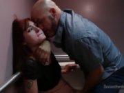 Sexo caliente con una compañera de trabajo