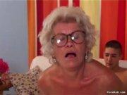 Granny Effie fucks