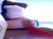 Mujer madura de culo grande se monta ensima para sentir mi pene