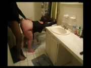 Follanod en el baño con una vecina