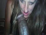 CHILENA mamando pichula