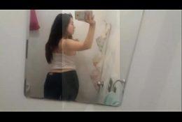 👅Hermosa Chilena Caliente jugando con su cuerpo👅